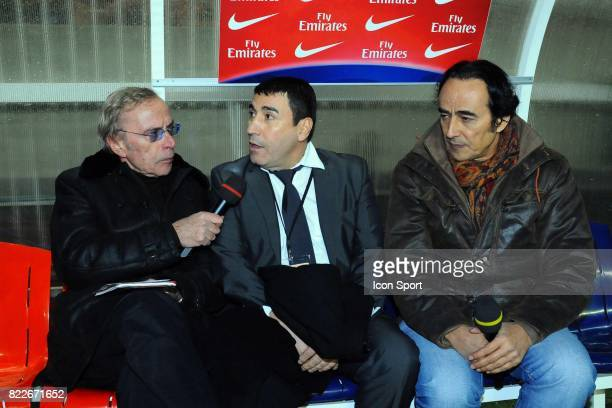 Dominique GRIMAULT / Guy CAZADAMONT / Didier ROUSTAN PSG / Marseille 27eme journee de Ligue 1 Parc des Princes