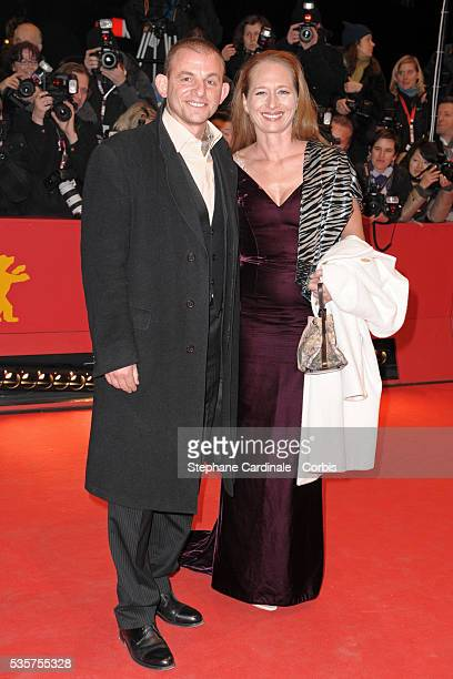 Dominique Horwitz and Anna Wittig attend the premiere of The International during the 59th Berlin Film Festival