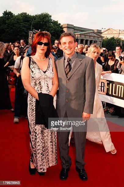 Dominique Horwitz Ehefrau Patricia DieNacht der StarsDeutscher Filmpreis99Verleihung Berlin Staatsoper Unterden Linden