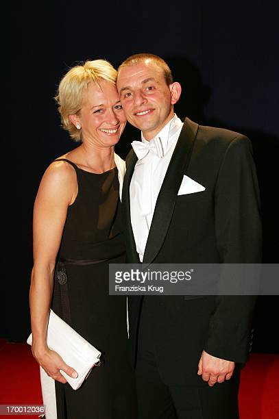 Dominique Horwitz With His girlfriend Anna Wittig In the aftershow party for media prize Bambi in Hamburg