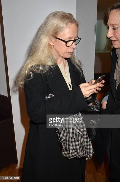 Dominique Issermann attends the 'WAA/HH' Food Flavouring Spray By Philippe Starck and Patrick Edwards Launch Cocktail at Le Laboratoire on May 02...