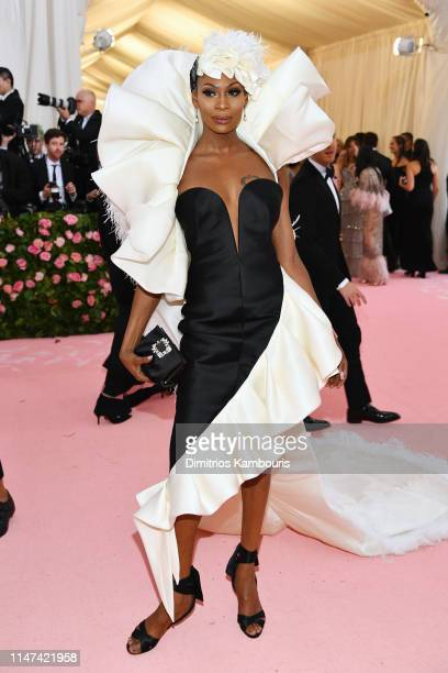 Dominique Jackson attends The 2019 Met Gala Celebrating Camp: Notes on Fashion at Metropolitan Museum of Art on May 06, 2019 in New York City.