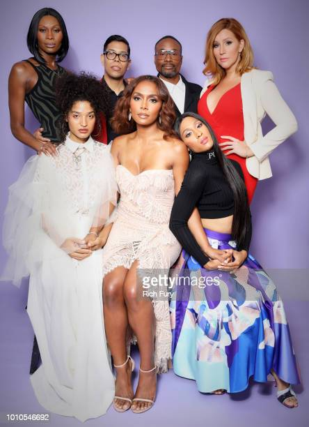 Dominique Jackson Steven Canals Billy Porter Our Lady J Indya Moore Janet Mock and Mj Rodriguez of FX's 'Pose' pose for a portrait during the 2018...