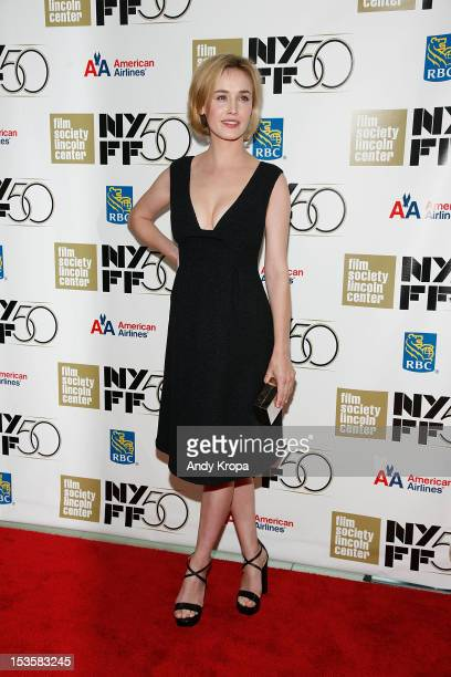 Dominique McElligott attends Not Fade Away Centerpiece Gala Presentation during The 50th New York Film Festival at Alice Tully Hall Lincoln Center on...