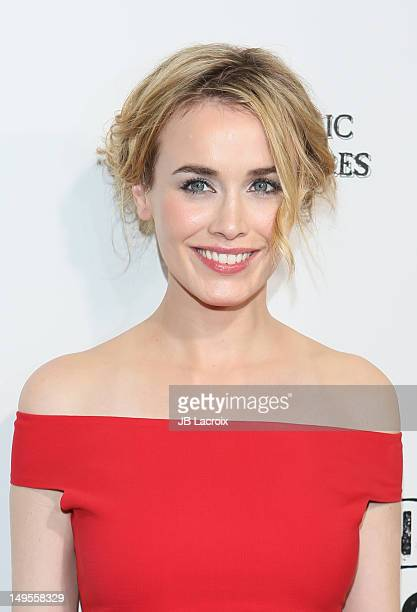 Dominique McElligott attends the AMC's Hell On Wheels Season 2 Premiere at The Paley Center for Media on July 30 2012 in Beverly Hills California