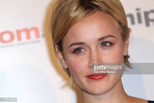 Dominique McElligott attends the MIPCOM 2011 Opening Party at the Martinez Hotel on October 3 2011 in Cannes France