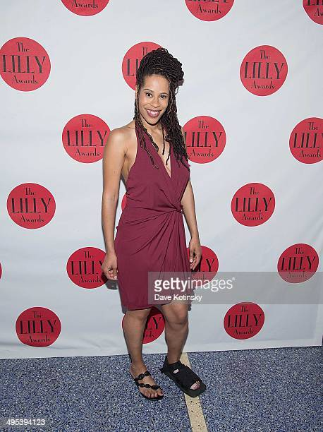 Dominique Morisseau attends the 5th Annual Lilly awards at Playwrights Horizons on June 2 2014 in New York City