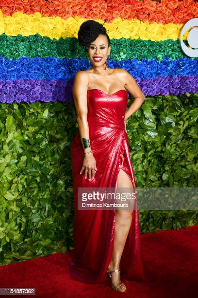 Dominique Morisseau attends the 73rd Annual Tony Awards at Radio City Music Hall on June 09 2019 in New York City