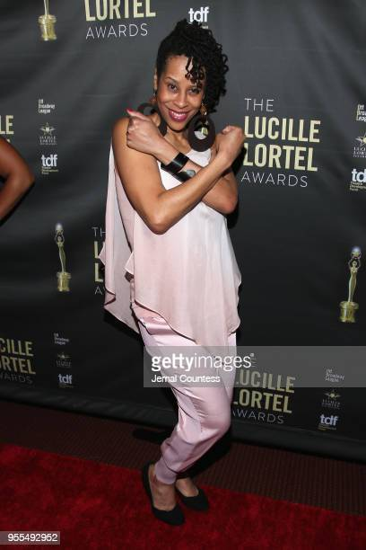 Dominique Morriseau attends the 33rd Annual Lucille Lortel Awards on May 6, 2018 in New York City.