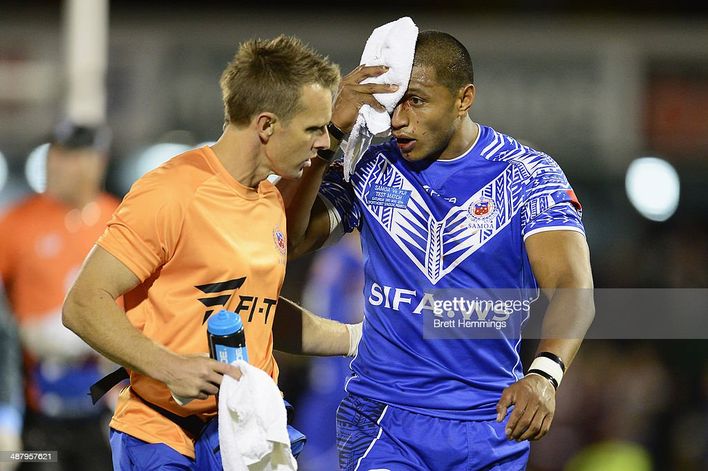 Fiji v Samoa : News Photo