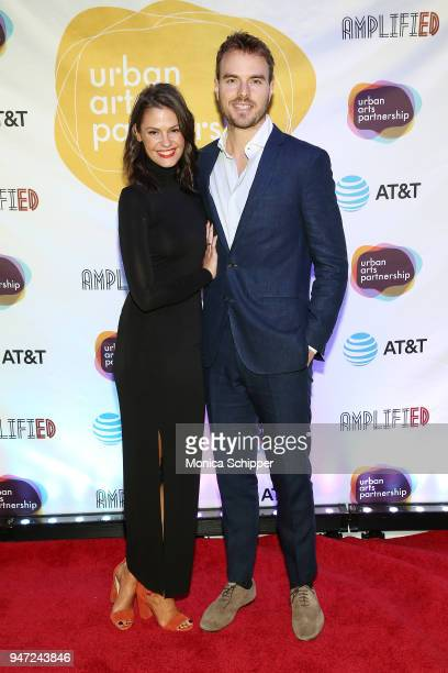 Dominique Piek and Nick Brown attend the Urban Arts Partnership's AmplifiED Gala at The Ziegfeld Ballroom on April 16 2018 in New York City