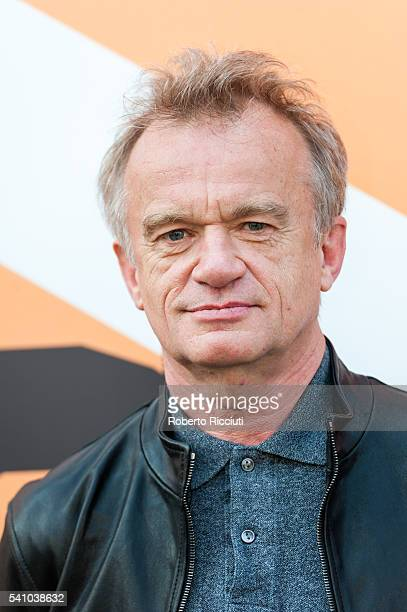 Dominique Pinon attends a photocall for the retrospective screening of 'Betty Blue' at the 70th edition of the Edinburgh International Film Festival...