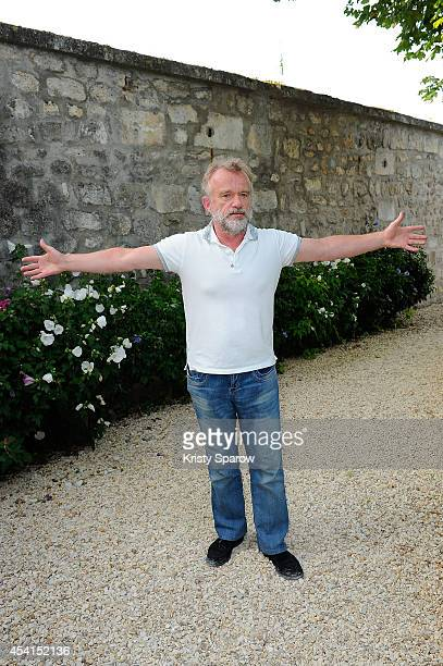 Dominique Pinon attends the 'Breves De Comptoir' Photocall at Hotel Mercure during the 7th Angouleme FrenchSpeaking Film Festival on August 25 2014...