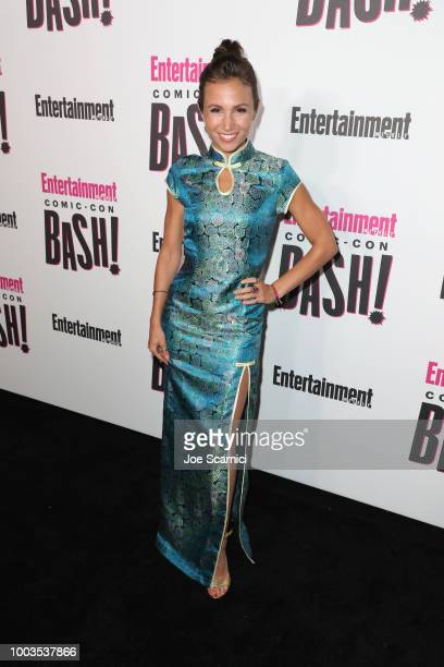 Dominique ProvostChalkley attends Entertainment Weekly's ComicCon Bash held at FLOAT Hard Rock Hotel San Diego on July 21 2018 in San Diego...