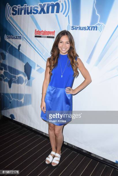 Dominique ProvostChalkley attends SiriusXM's Entertainment Weekly Radio Channel Broadcasts From Comic Con 2017 at Hard Rock Hotel San Diego on July...