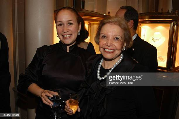 Dominique Richard and Alice Mason attend GRAFF Hosts the Book Launch for Andy Warhol The Day The Factory Died at Graff on November 13 2006 in New...