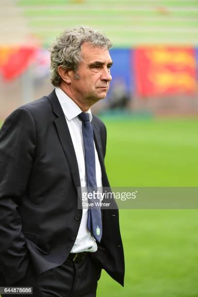 Dominique ROCHETEAU Caen / Saint Etienne Ligue 1 9e journee Photo Dave Winter / Icon Sport