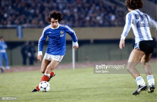 Dominique ROCHETEAU Argentine / France 1er Tour Coupe du monde de football de 1978 Estadio Monumental Buenos Aires