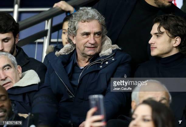 Dominique Rocheteau attends the French League Cup quarter final between Paris SaintGermain and AS SaintEtienne at Parc des Princes on January 8 2020...