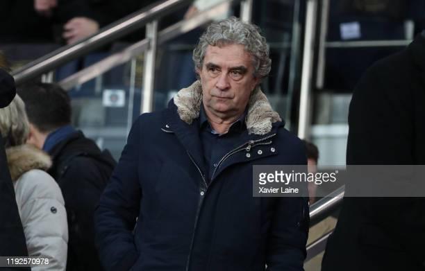 Dominique Rocheteau attends the Ligue Cup match between Paris SaintGermain and AS SaintEtienne at Parc des Princes on January 8 2020 in Paris France