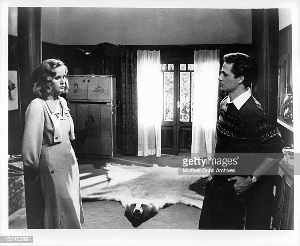 Dominique Sanda as Micol And Lino Capolicchio as her would be lover in a scene from the film 'The Garden Of The Finzi Continis', 1970.