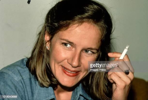 Dominique Sanda circa 1981 in New York