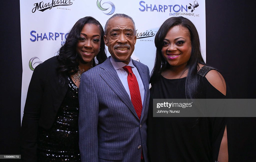 Sharpton Entertainment Official Launch Event : News Photo