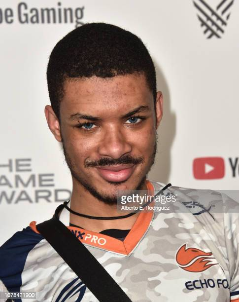 """Dominique """"Sonic Fox"""" McLean attends The 2018 Game Awards at Microsoft Theater on December 06, 2018 in Los Angeles, California."""