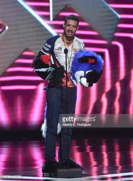 """Dominique """"SonicFox"""" McLean attends The 2018 Game Awards at Microsoft Theater on December 06, 2018 in Los Angeles, California."""