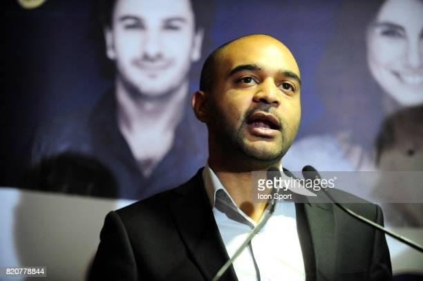 """Dominique SOPO - - Lancement de la """" Journee du Respect """" organisee par SOS Racisme et le PSG dans le cadre du plan """" Tous PSG """" - Conference de..."""