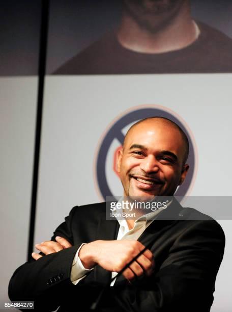 """Dominique SOPO - President de SOS Racisme - - Lancement de la """" Journee du Respect """" organisee le Dimanche 27 Fevrier par SOS Racisme et le PSG dans..."""