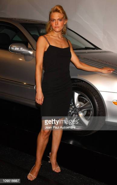 Dominique Swain during MercedesBenz Fall 2004 Fashion Week at Smashbox Studios Day 1 Arrivals at Smashbox Studios in Culver City California United...