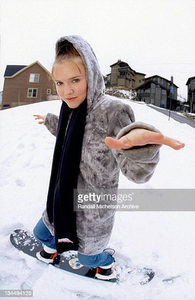 Dominique Swain during Sundance Film Festival Archives by Randall Michelson in Park City Utah United States