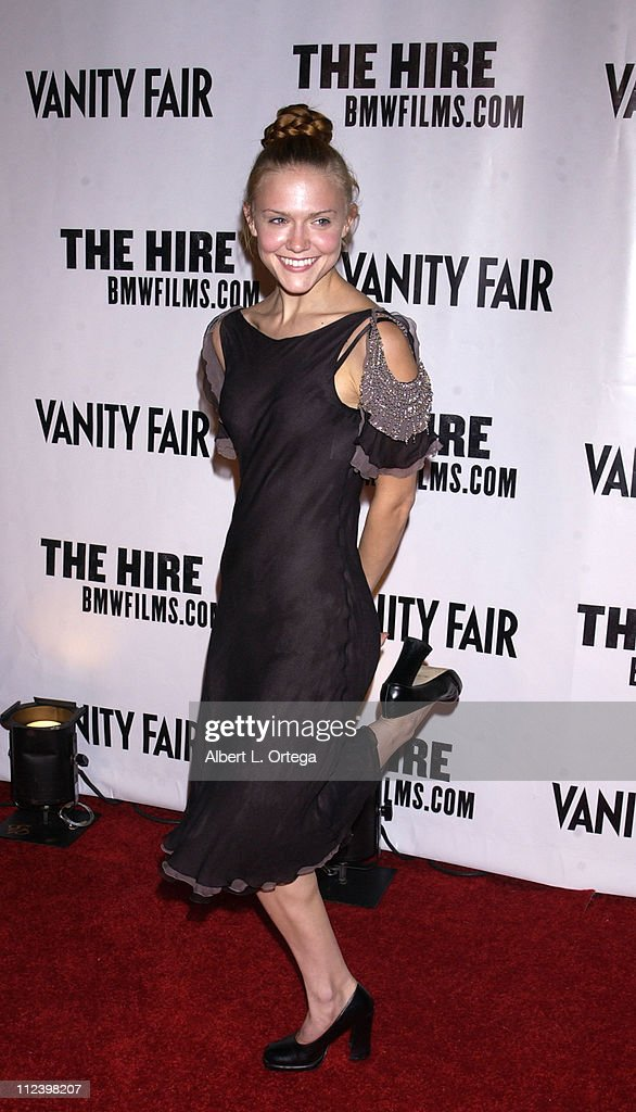 Dominique Swain during 'The Hire' Premiere at ArcLight Cinemas in Hollywood, California, United States.