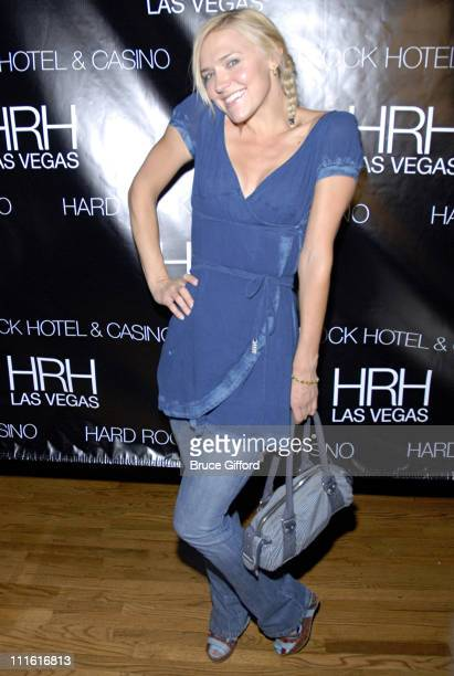 Dominique Swain during The Killers in Concert at Hard Rock Hotel and Casino in Las Vegas June 1 2007 Red Carpet at Hard Rock Hotel and Casino in Las...