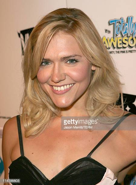 Dominique Swain during VH1's 'Totally Awesome' After Party Red Carpet at The Day After in Los Angeles California United States
