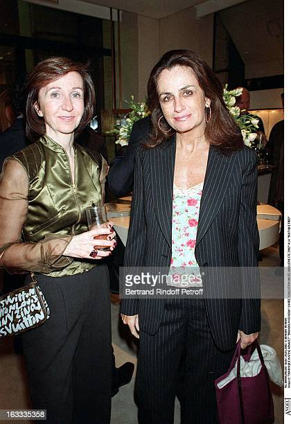 Dominique Watine Arnault Brandolini D'Adda party fine jewelry collection summer 2002 at the store Boutique Fred