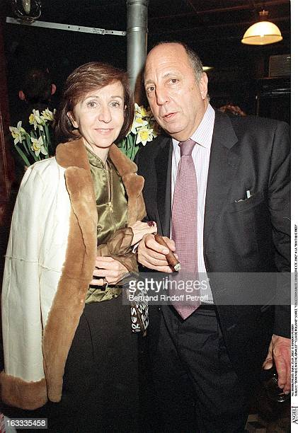 Dominique Watine Arnault Claude Roland party fine jewelry collection summer 2002 at the store Boutique Fred
