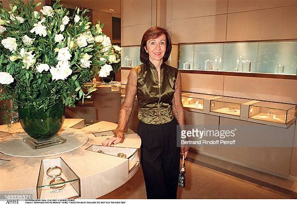 Dominique Watine Arnault party fine jewelry collection summer 2002 at the store Boutique Fred