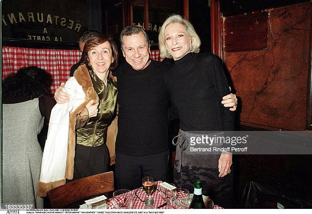 Dominique Watine Arnault Peter Marino Nan Kempner party fine jewelry collection summer 2002 at the store Boutique Fred