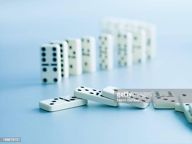 Dominoes fallen