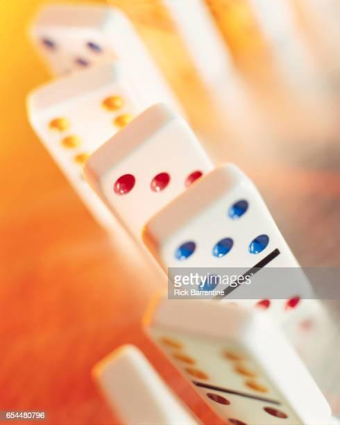 Dominoes in Row