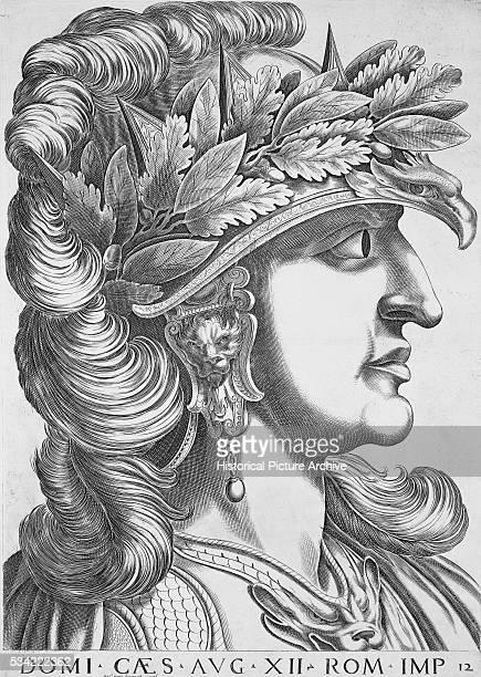 Domitian Caesar Augustus XII Emperor of Rome by Antonius