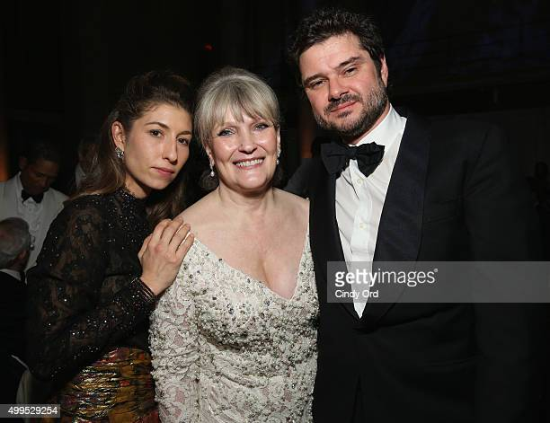 Domitilla Dotti Christine Oliver and Luca Dotti attend the 11th Annual UNICEF Snowflake Ball Honoring Orlando Bloom Mindy Grossman And Edward G Lloyd...