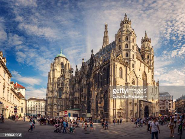 domkirche st. stephan - vienna austria stock pictures, royalty-free photos & images