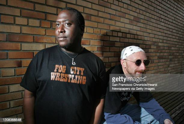 Domminick Jerry and Steve Hemenway are coowners of new wrestling league that sprouted up in the city called Fog City Wrestling San Francisco hasn't...