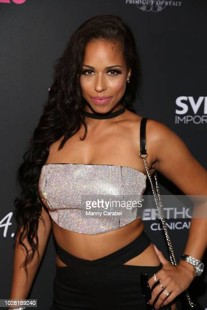 Domo attends OK Magazine 12th Annual New York Fashion Week Celebration at Up Down on September 6 2018 in New York City