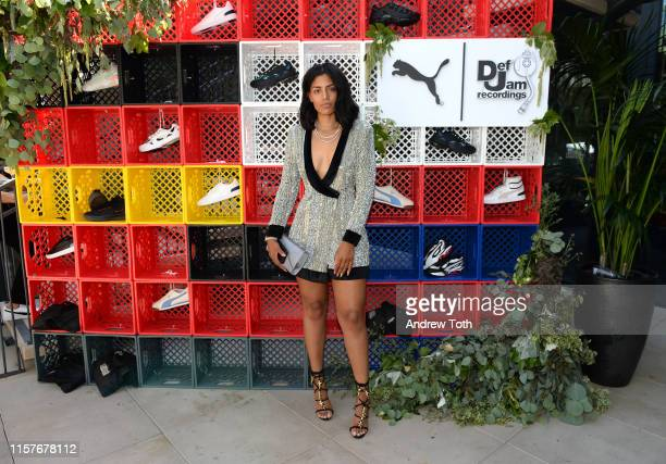 Domo attends The Def Jam Recordings BETX celebration at Spring Place Beverly Hills in partnership with Puma Courvoisier Beats and Heineken on June 22...