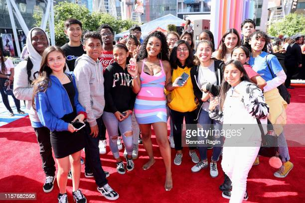 Domo Wilson attends BET Experience Live Sponsored By CocaCola at LA Live on June 22 2019 in Los Angeles California