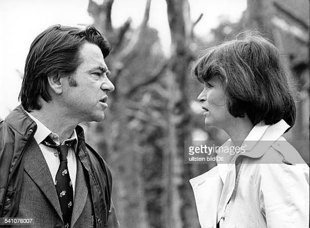 Domroese Angelica *Schauspielerin D mit Ehemann Hilmar Thate in dem TVFilm'Die zweite Haut' 1981